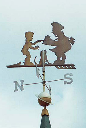 Howard johnsons restaurant weathervane information center for Brown motors greenfield ma service